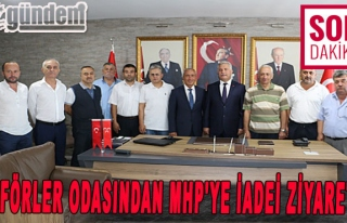 Şoförler Odasından MHP'ye İadei Ziyaret