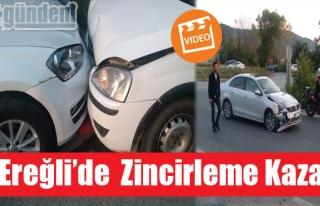 Ereğli'de zincirleme Kaza Çok Sayıda Hafif yaralı