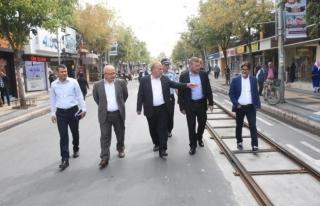 tramvay projesi 2 ay içinde Hizmette