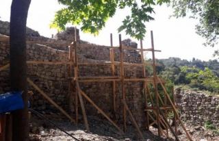 Başkan Yemenici; gözetleme kulesi olarak kullanılmıştır.