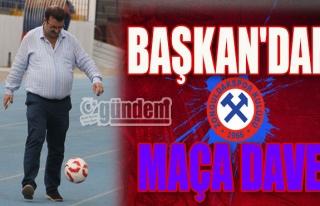Başkan'dan Maça Davet