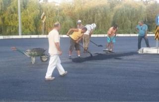 Akçakoca'da asfalt çalışmaları başladı