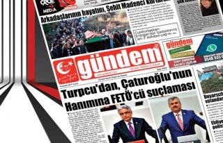 15 Aralık 2017 Gündem Gazetesi