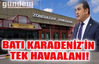 BATI KARADENİZ'İN TEK HAVAALANI!