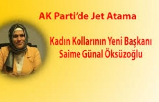Karabük AK Parti Kadın Kolları Başkanı Öksüzoğlu...