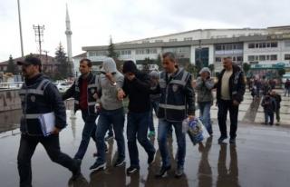 Düzce Polisi hırsızları İstanbul'da yakaladı...