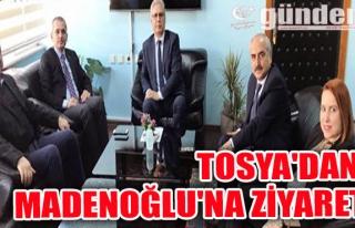 Tosya'dan Madenoğlu'na ziyaret