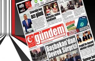 25 Aralık 2017 Gündem Gazetesi