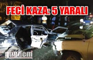Zonguldak'ta Feci Kaza: 5 Yaralı