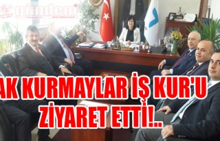 AK Kurmaylar İş Kur'u Ziyaret Etti!..