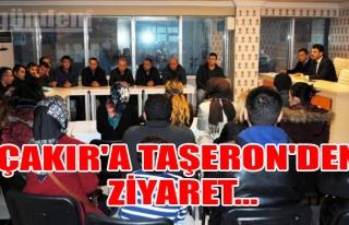 Çakır'a Taşeron'den Ziyaret...