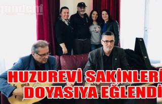 Zonguldak Huzurevi Sakinleri Doyasıya Eğlendi!
