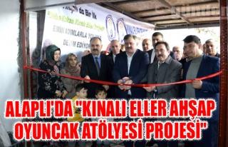 """""""Kınalı Eller Ahşap Oyuncak Atölyesi Projesi""""..."""