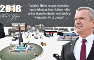 Başkan Kantarcı, '2018'de Çaycuma için daha çok...