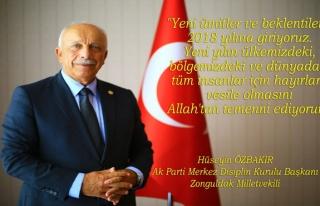 Özbakır, Yeni Yılı Kutladı...