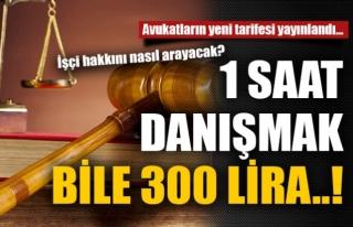 Avukatların Yeni tarifesi Yayınlandı...