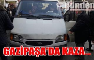Gazipaşa'da Kaza...