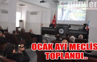 OCAK AYI MECLİSİ TOPLANDI..