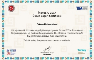 Düzce Üniversitesi ve Düzce Teknopark'tan İnovaLİG...