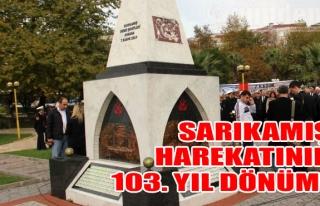 Sarıkamış Harekatının 103. Yıl Dönümü