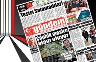 05 Ocak 2018 Gündem Gazetesi
