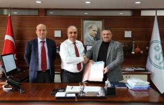 Karadere ve Akdere inşaat sözleşmesi imzalandı...