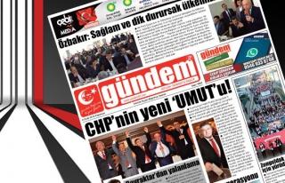08 Ocak 2018 Gündem Gazetesi