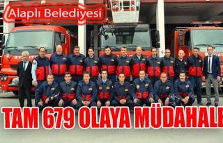Alaplı Belediyesi Tam 679 Olaya Müdehale Etti