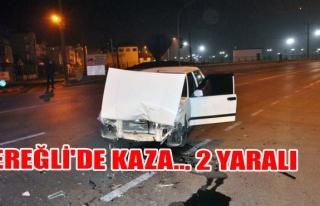 Ereğli'de Kaza... 2 Yaralı