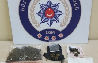 Düzce Polisinden uyuşturucuya darbe!