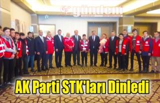 AK Parti STK'ları Dinledi