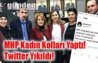 MHP Kadın Kolları Yaptı! Twitter Yıkıldı!