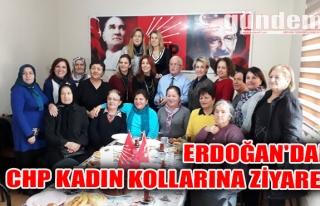 Erdoğan'dan CHP Kadın Kollarına Ziyaret