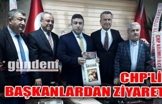CHP'li Başkanlardan Ziyaret