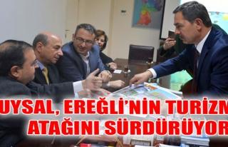 Uysal, Ereğli'nin turizm atağını sürdürüyor..