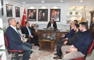 AK Parti teşkilatı ile bir araya geldiler...