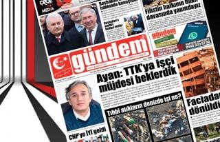 24 Ocak 2018 Gündem Gazetesi
