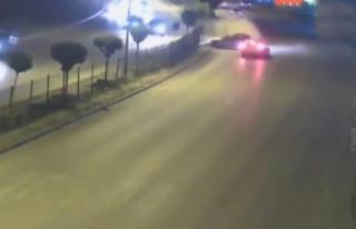 Kazalar; MOBESE kameralarına yansıdı