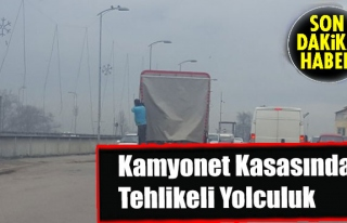 Zonguldak'ta Tehlikeli Yolculuk...