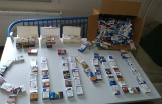 Polisten sarma sigara operasyonu....