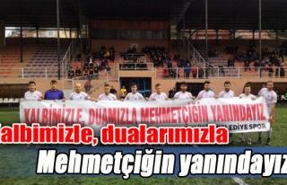 Kalbimizle, dualarımızla Mehmetçiğin yanındayız'