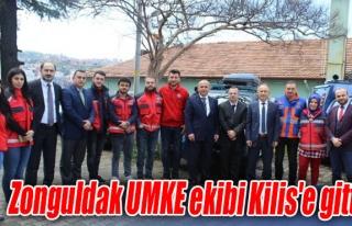 Zonguldak UMKE ekibi Kilis'e gitti
