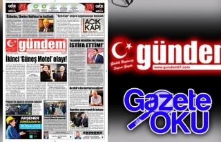 23 Nisan 2018 Gündem Gazetesi