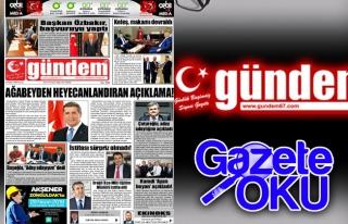 27 Nisan 2018 Gündem Gazetesi