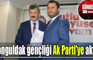 Zonguldak gençliği Ak Parti'ye aktı!
