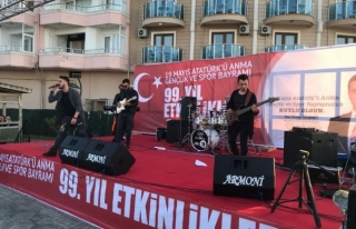 Akçakoca'da gençlik konseri
