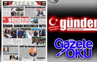 16 Mayıs 2018 Gündem Gazetesi