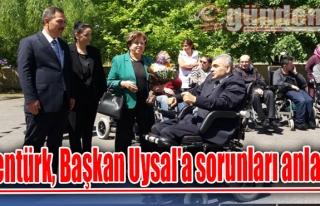 Şentürk, Başkan Uysal'a sorunları anlattı