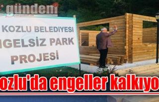 Kozlu'da engeller kalkıyor