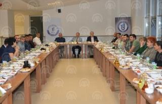 Rektör Uzun, basın mensuplarıyla iftar yaptı